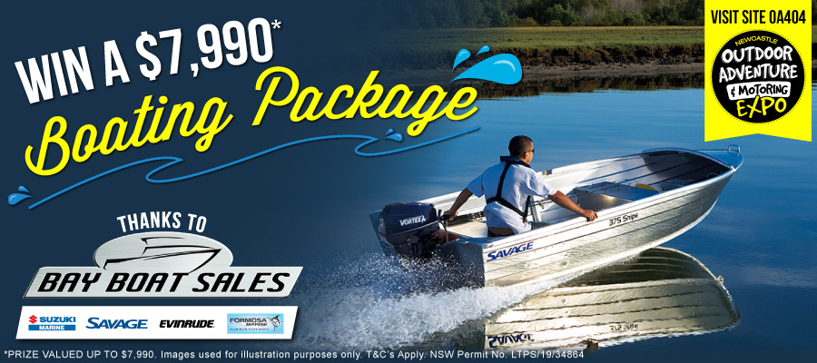 Win a Boating Package