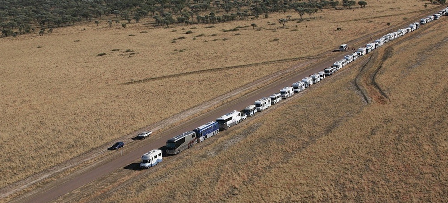 RV enthusiasts attempting to break World Records